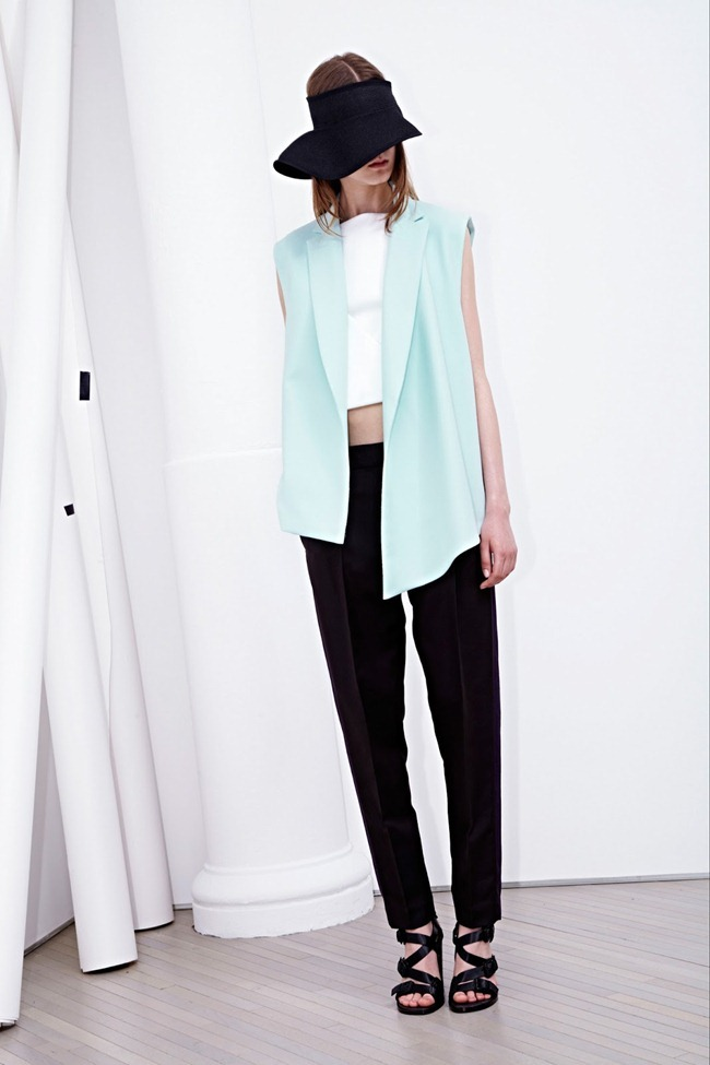 COLLECTION- Zoe Colivas & Joanna Tatarka for 3.1 Phillip Lim Resort 2014. www.imageamplified.com, Image Amplified (24)