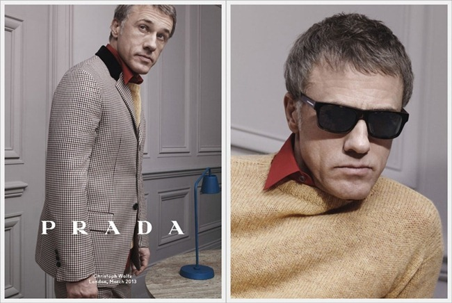 CAMPAIGN Christoph Waltz, Ben Whishaw & Ezra Miller for Prada Fall 2013 by David Sims. www.imageamplified.com, Image Amplified (1)