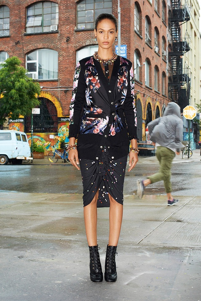 COLLECTION Dalianah Akerion & Joan Smalls for Givenchy Resort 2014. www.imageamplified.com, Image Amplified (4)