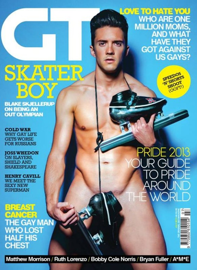 GAY TIMES MAGAZINE Blake Skjellerup in Skater Boy by James Demitri. July 2013, www.imageamplified.com, Image Amplified (6)