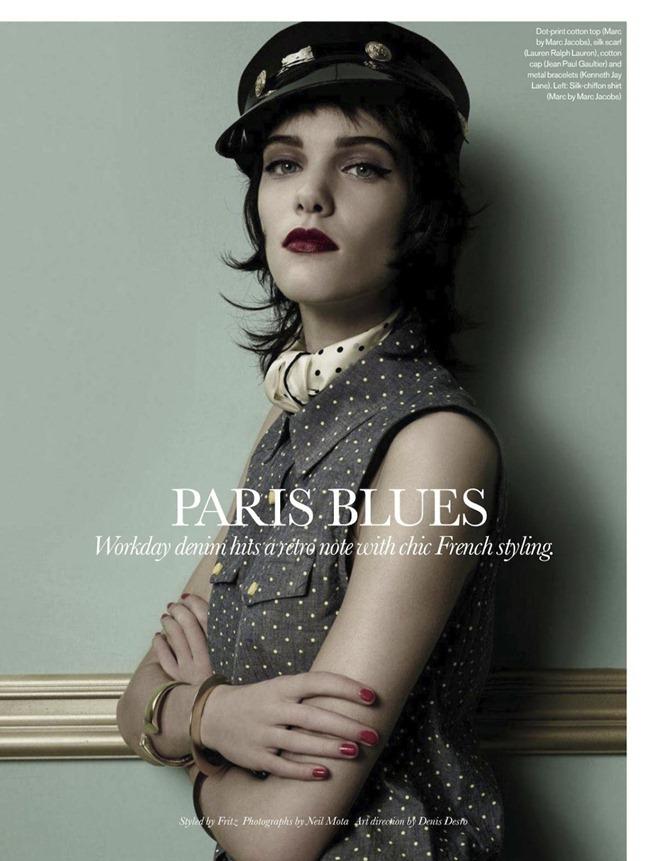 ELLE CANADA Charlotte in Paris Blues by Neil Mota. Fritz, July 2013, www.imageamplified.com, Image Amplified (1)