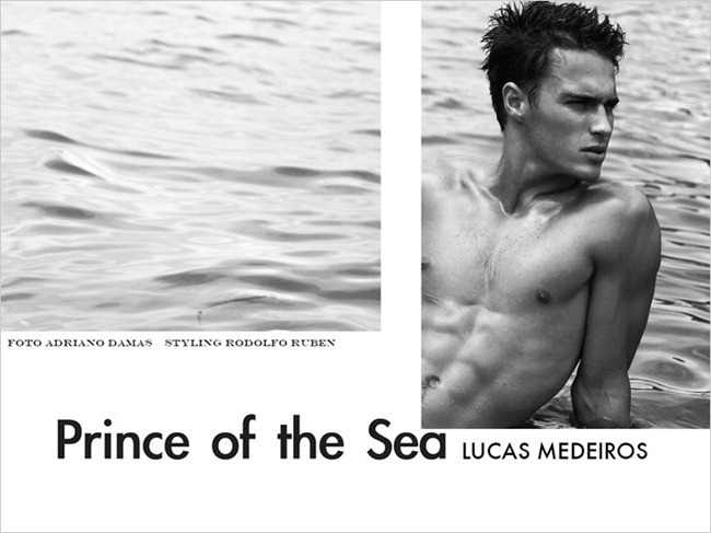 Picture About Male Model Lucas Madeiros Captured by Adriano Damas