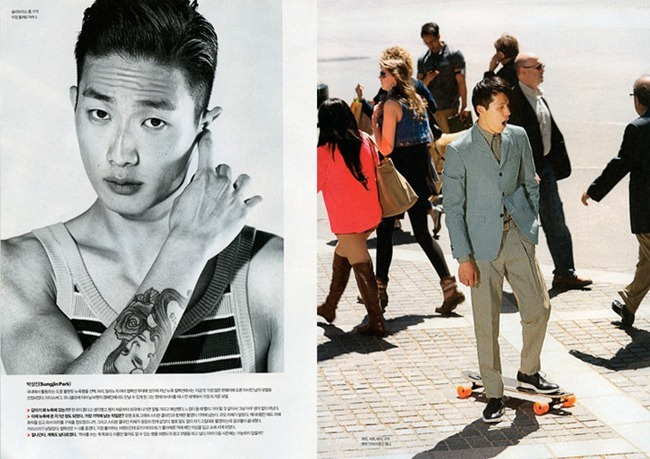 ESQUIRE KOREA Dae Na, Sung Jin Park & Joe Choi in New York Calling by Kristiina Wilson. www.imageamplified.com, Image Amplified (2)