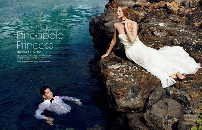 VOGUE JAPAN WEDDING Marloes Horst & Hunter Trevelyan Wyndham in They Call Her Pineapple Princess by Rene Habermacher. Rene Semba, www.imageamplified.com, Image Amplified (12)