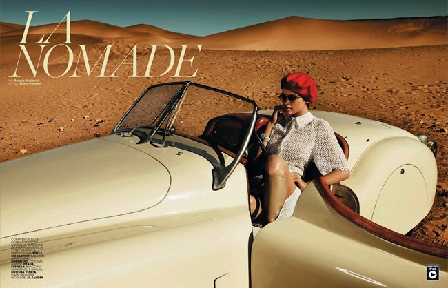 MARIE CLAIRE ITALIA Benthe de Vries in La Nomade by Rennio Maifredi. Laura Seganti, July 2013, www.imageamplified.com, Image Amplified (10)