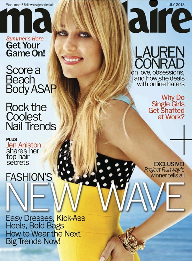 MARIE CLAIRE MAGAZINE Lauren Conrad in Golden Girl by Regan Cameron. Alison Edmond, July 2013, www.imageamplified.com, Image Amplified (8)