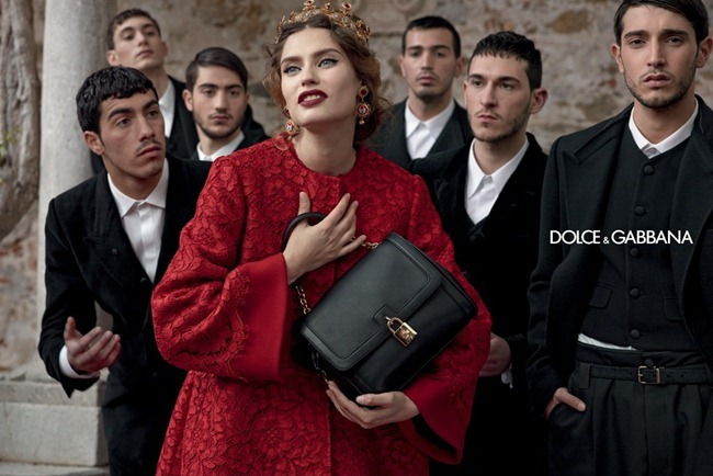 CAMPAIGN- Andreea Diaconu, Bianca Balti, Kate King & Monica Bellucci for Dolce & Gabbana Fall 2013 by Domenico Dolce. www.imageamplified.com, Image Amplified (2)
