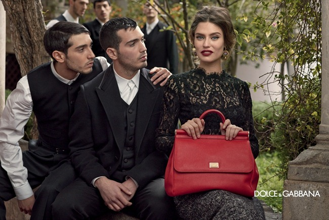 CAMPAIGN- Andreea Diaconu, Bianca Balti, Kate King & Monica Bellucci for Dolce & Gabbana Fall 2013 by Domenico Dolce. www.imageamplified.com, Image Amplified (3)