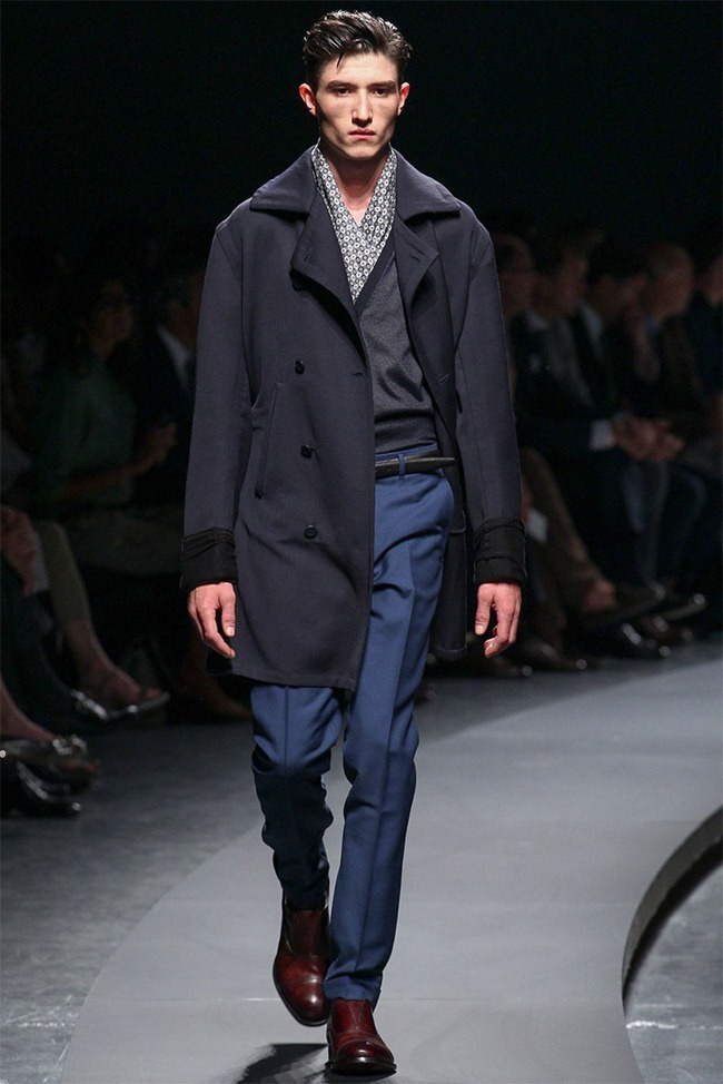 MILAN FASHION WEEK- Ermenegildo Zegna Men's RTW Spring 2014. www.imageamplified.com, Image Amplified (6)
