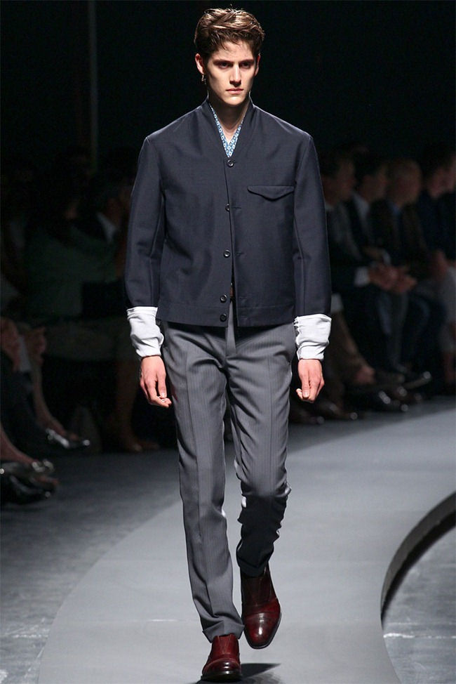 MILAN FASHION WEEK- Ermenegildo Zegna Men's RTW Spring 2014. www.imageamplified.com, Image Amplified (7)