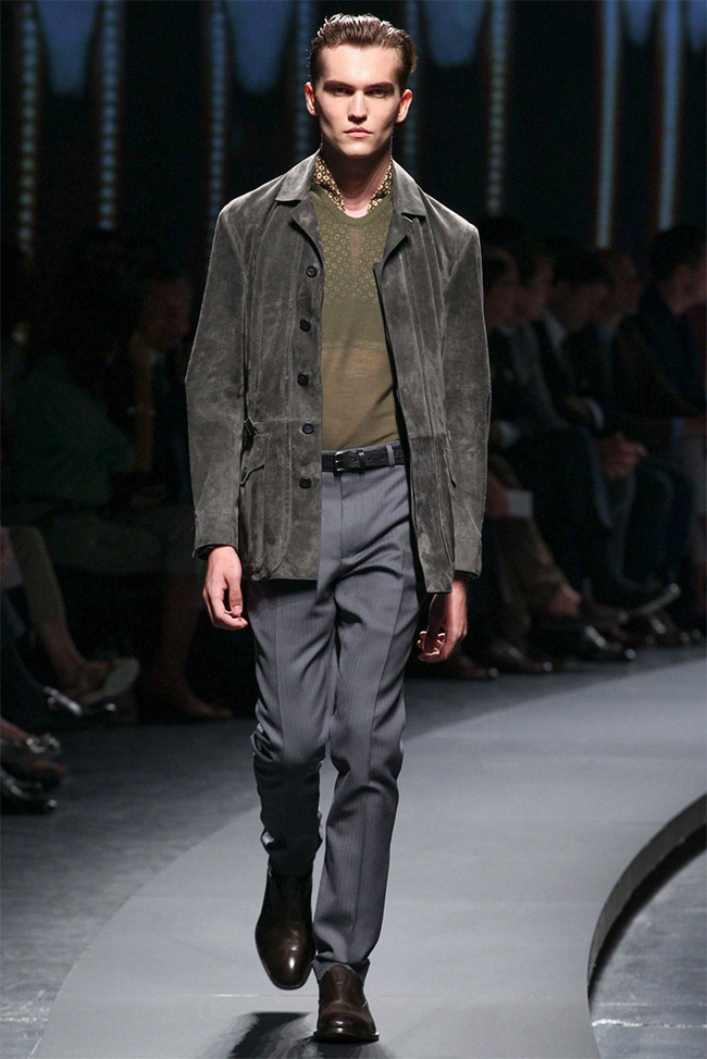 MILAN FASHION WEEK- Ermenegildo Zegna Men's RTW Spring 2014. www.imageamplified.com, Image Amplified (15)