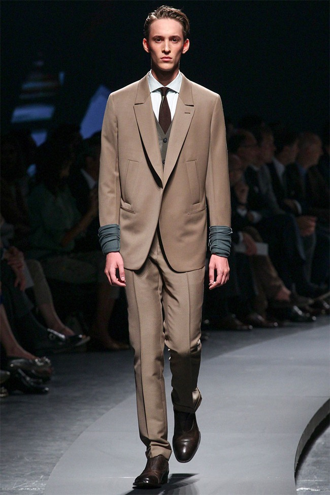 MILAN FASHION WEEK- Ermenegildo Zegna Men's RTW Spring 2014. www.imageamplified.com, Image Amplified (16)