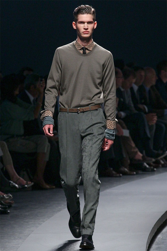 MILAN FASHION WEEK- Ermenegildo Zegna Men's RTW Spring 2014. www.imageamplified.com, Image Amplified (17)