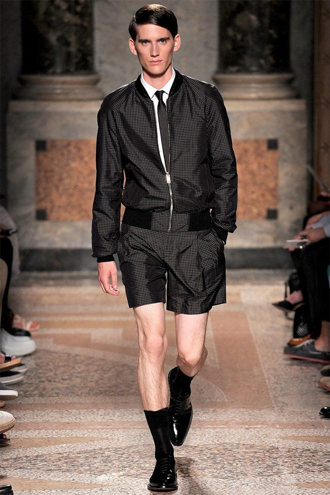 MILAN FASHION WEEK- Les Hommes Men's RTW Spring 2014. www.imageamplified.com, Image Amplified (8)