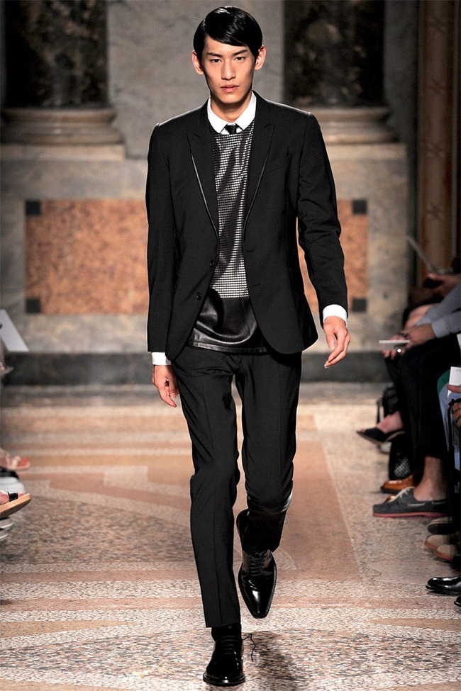 MILAN FASHION WEEK- Les Hommes Men's RTW Spring 2014. www.imageamplified.com, Image Amplified (9)