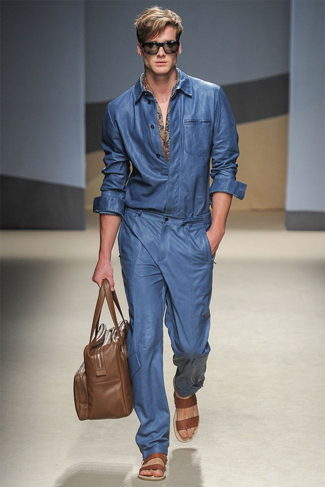 MILAN FASHION WEEK- Trussardi Men's RTW Spring 2014. www.imageamplified.com, Image Amplified (25)