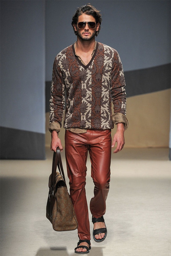 MILAN FASHION WEEK- Trussardi Men's RTW Spring 2014. www.imageamplified.com, Image Amplified (27)