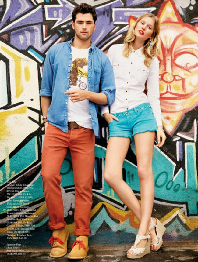 CATALOGUE Sean O'Pry for Lucky Brand Summer 2013. www.imageamplified.com, Image Amplified (6)