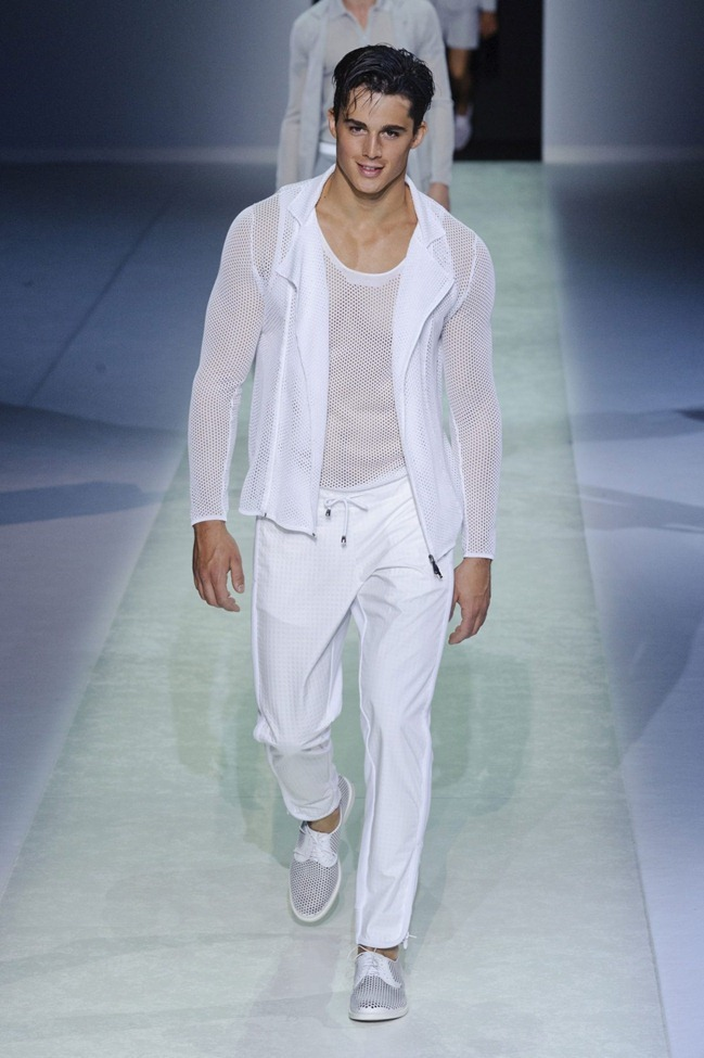 MILAN FASHION WEEK Emporio Armani Men's RTW Spring 2014. www.imageamplified.com, Image Amplified (45)