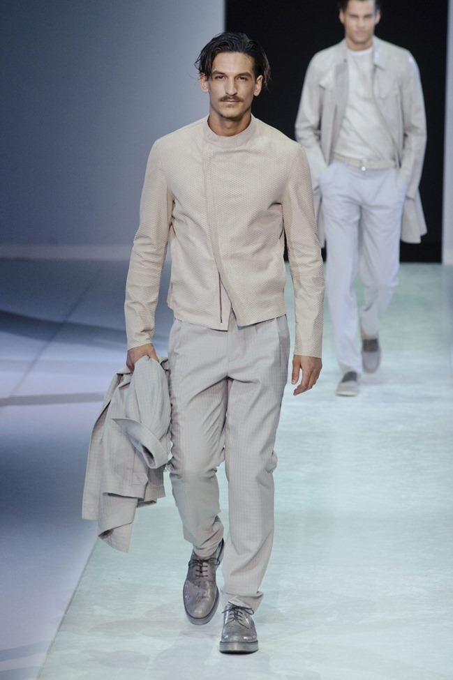 MILAN FASHION WEEK Emporio Armani Men's RTW Spring 2014. www.imageamplified.com, Image Amplified (46)