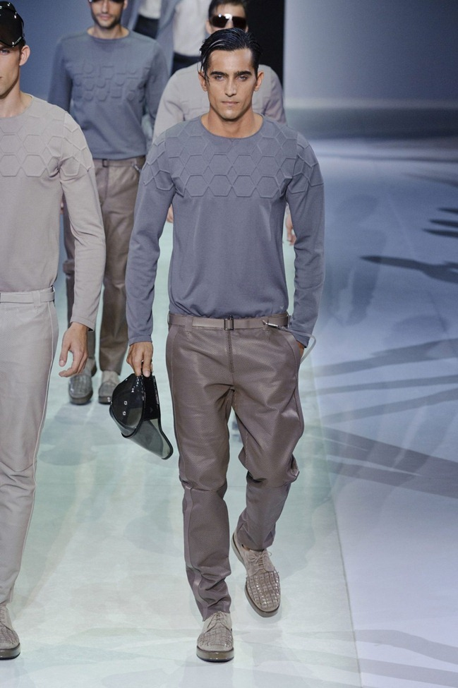 MILAN FASHION WEEK Emporio Armani Men's RTW Spring 2014. www.imageamplified.com, Image Amplified (36)