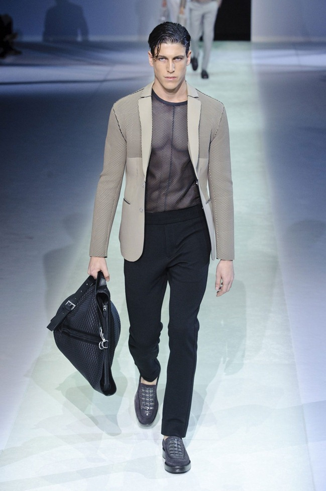 MILAN FASHION WEEK Emporio Armani Men's RTW Spring 2014. www.imageamplified.com, Image Amplified (44)