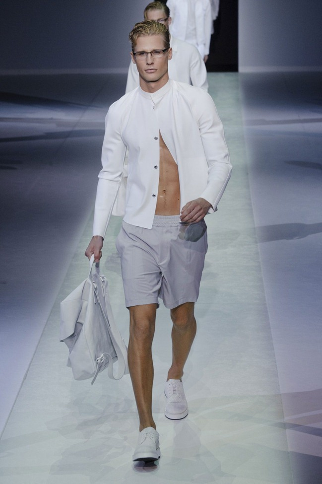 MILAN FASHION WEEK Emporio Armani Men's RTW Spring 2014. www.imageamplified.com, Image Amplified (15)
