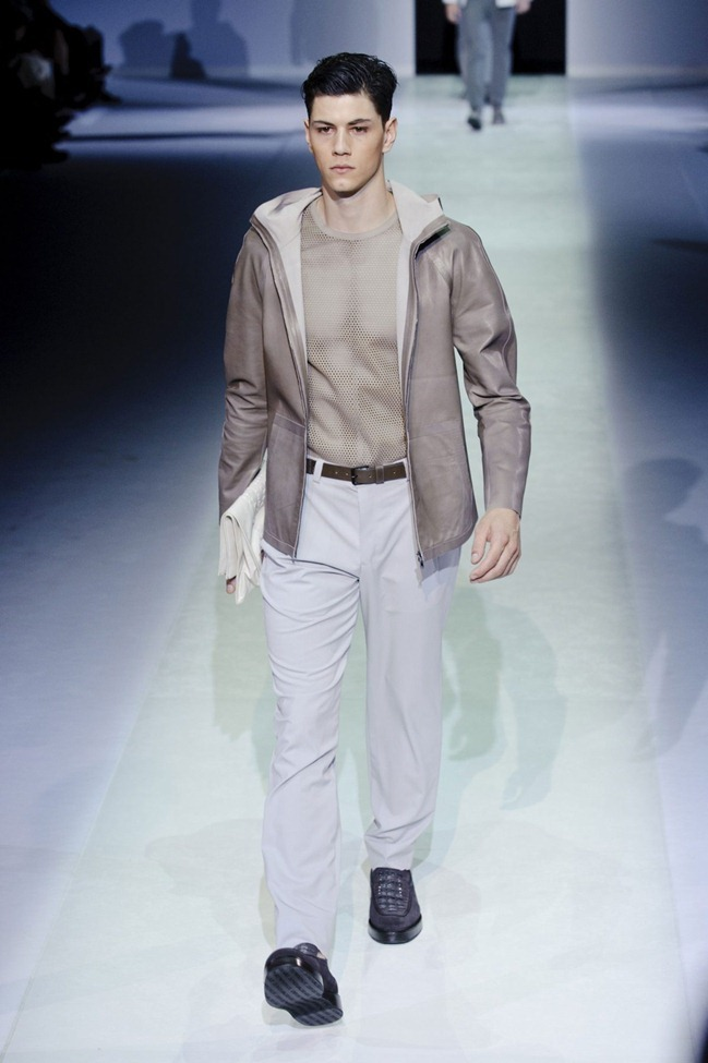 MILAN FASHION WEEK Emporio Armani Men's RTW Spring 2014. www.imageamplified.com, Image Amplified (19)