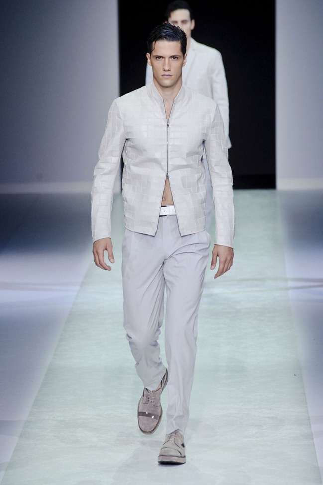 MILAN FASHION WEEK Emporio Armani Men's RTW Spring 2014. www.imageamplified.com, Image Amplified (82)