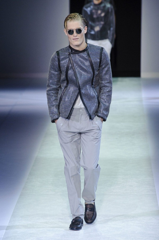 MILAN FASHION WEEK Emporio Armani Men's RTW Spring 2014. www.imageamplified.com, Image Amplified (94)