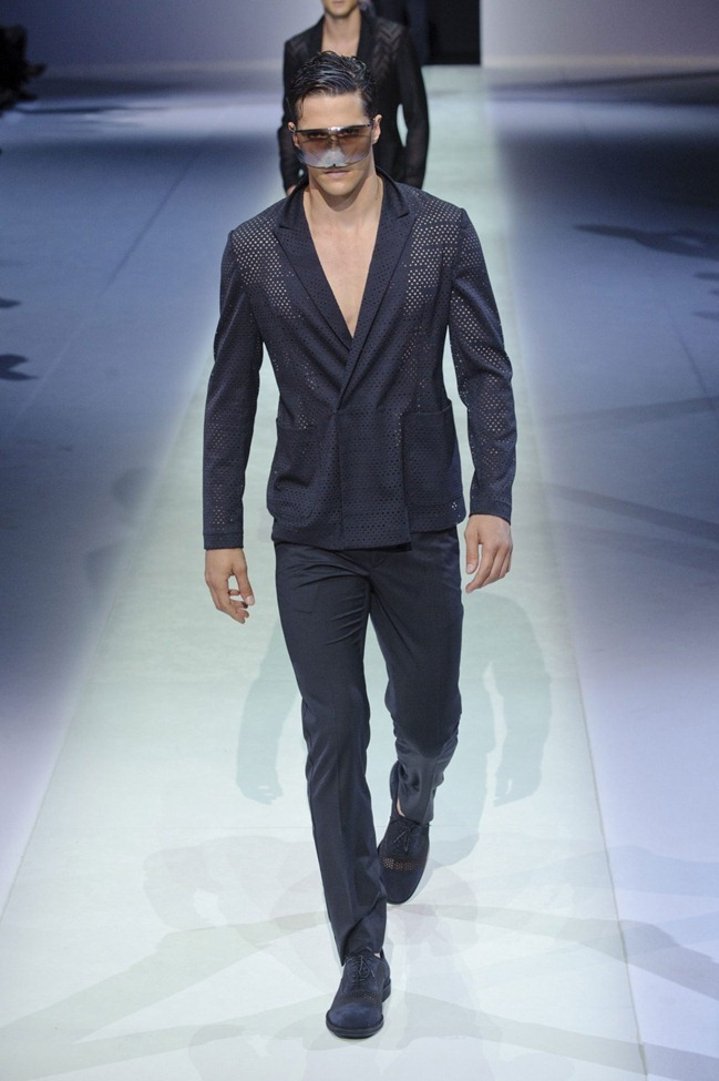 MILAN FASHION WEEK Emporio Armani Men's RTW Spring 2014. www.imageamplified.com, Image Amplified (96)