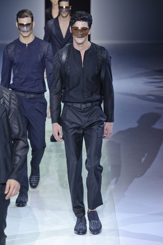 MILAN FASHION WEEK Emporio Armani Men's RTW Spring 2014. www.imageamplified.com, Image Amplified (97)