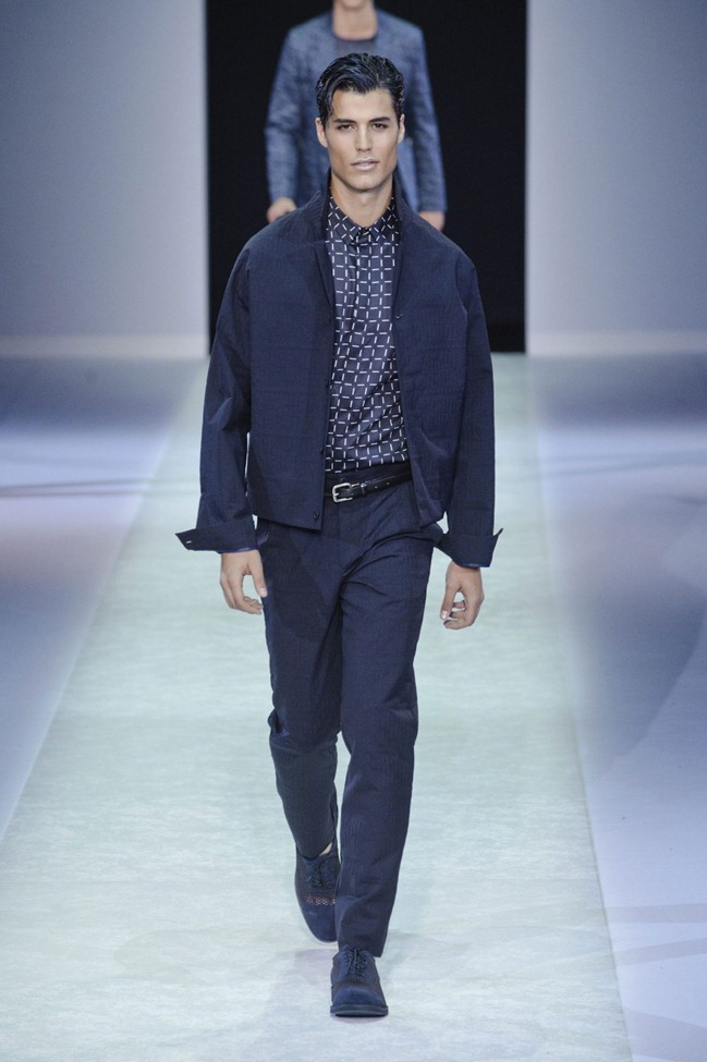 MILAN FASHION WEEK Emporio Armani Men's RTW Spring 2014. www.imageamplified.com, Image Amplified (106)
