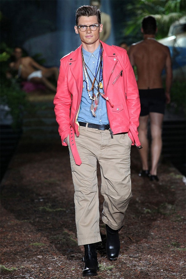 MILAN FASHION WEEK Dsquared² Men's RTW Spring 2014. www.imageamplified.com, Image Amplified (1)