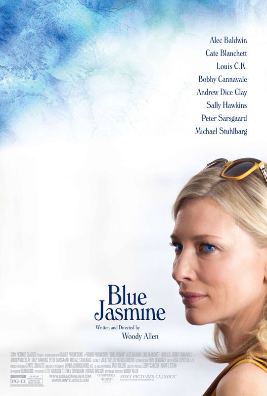 CINEMA SCAPE: Blue Jasmine by Woody Allen Starring Cate Blanchett. In Theaters July 26, 2013
