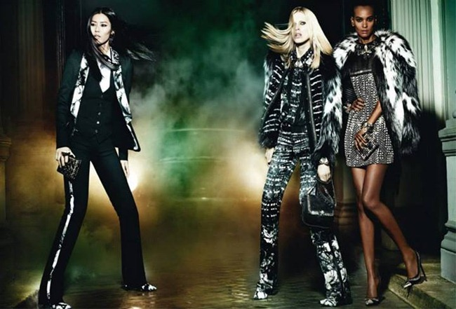 CAMPAIGN Iselin Steiro, Liu Wen & Liya Kebede for Roberto Cavalli Fall 2013 by Mario Testino. www.imageamplified.com, Image Amplified (5)