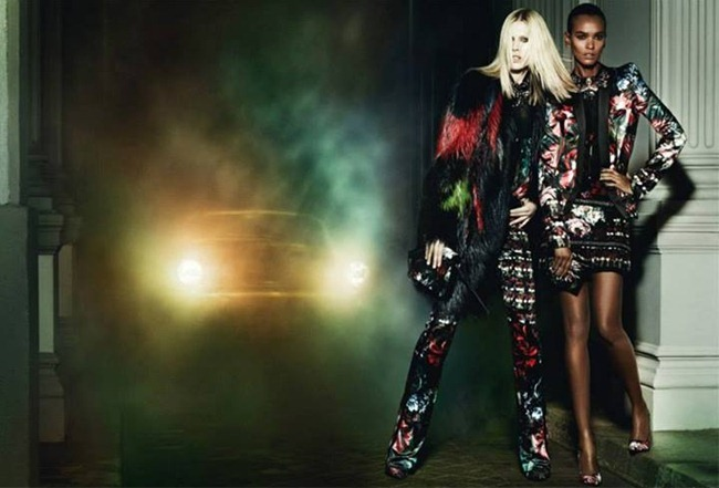 CAMPAIGN Iselin Steiro, Liu Wen & Liya Kebede for Roberto Cavalli Fall 2013 by Mario Testino. www.imageamplified.com, Image Amplified (7)