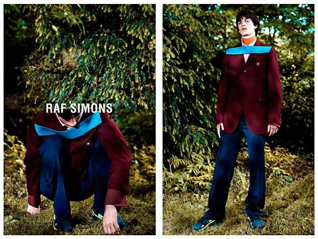 CAMPAIGN Luca Lemaire for Raf Simons Fall 2013 by Willy Vanderperre. www.imageamplified.com, Image Amplified (1)