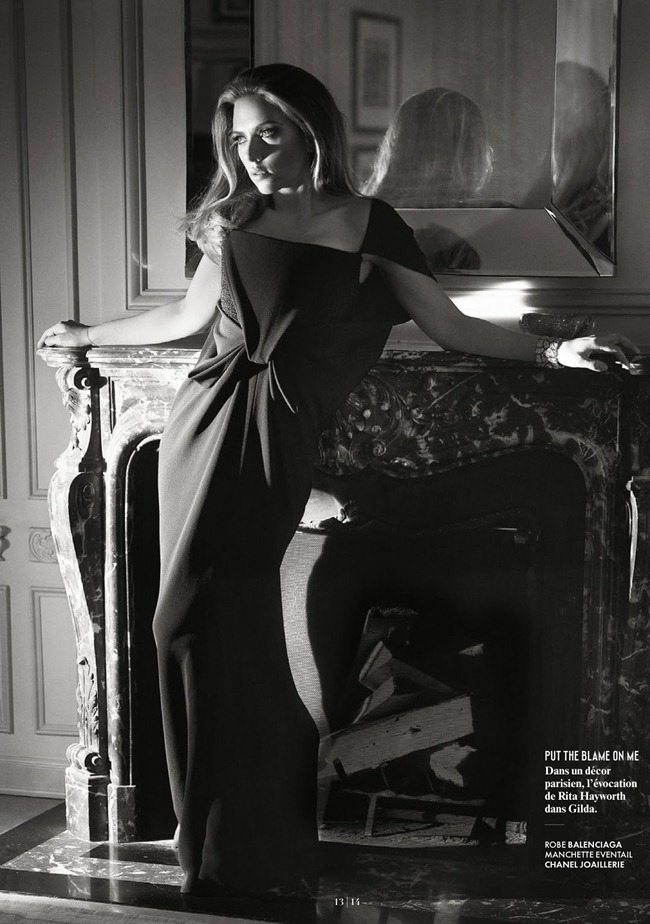 VANITY FAIR FRANCE Scarlett Johansson in Une Americaine A Paris by Mark Seliger. Deborah Afshani, July 2013, www.imageamplified.com, Image Amplified (1)