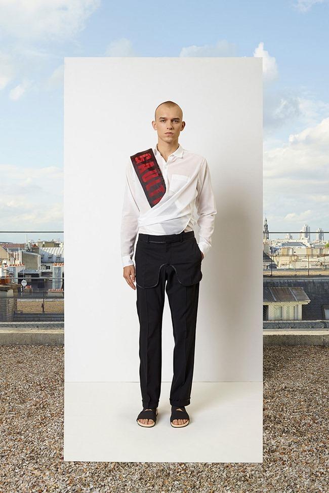 PARIS FASHION WEEK Jean Paul Gaultier Men's RTW Spring 2014. www.imageamplified.com, Image Amplified (1)