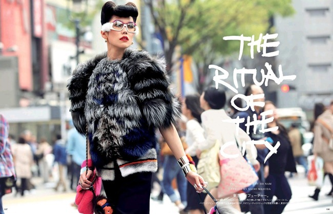 VOGUE JAPAN- Tao Okamoto in The Ritual Of The City by HB Nam. Saori Masuda, August 2013, www.imageamplified.com, Image Amplified