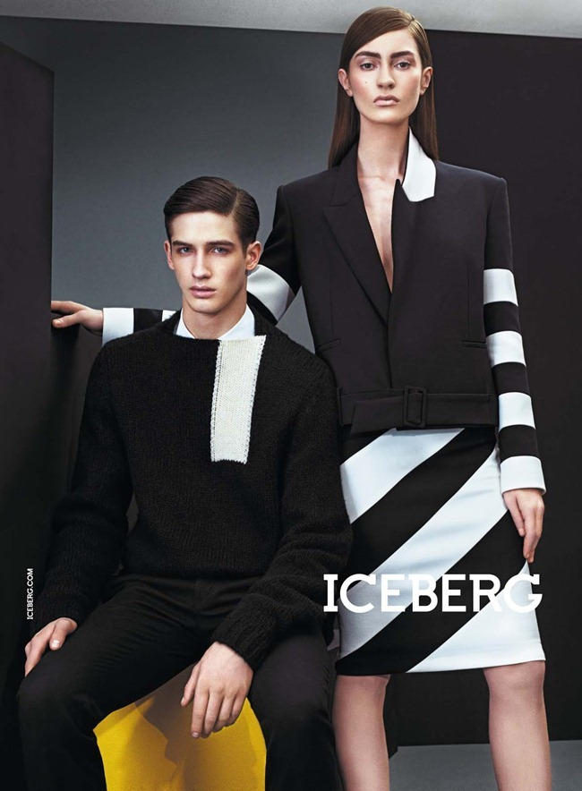 CAMPAIGN- Marine Deleeuw, Mijo Mihaljcic, Josephine le Tutour, Ian Sharp, Matthew Bell & Alexander Ferrario for Iceberg Fall 2013 by Sharif Hamza. www.imageamplified.com, Image Amplified (8)