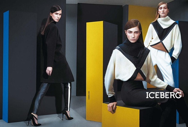 CAMPAIGN- Marine Deleeuw, Mijo Mihaljcic, Josephine le Tutour, Ian Sharp, Matthew Bell & Alexander Ferrario for Iceberg Fall 2013 by Sharif Hamza. www.imageamplified.com, Image Amplified (4)