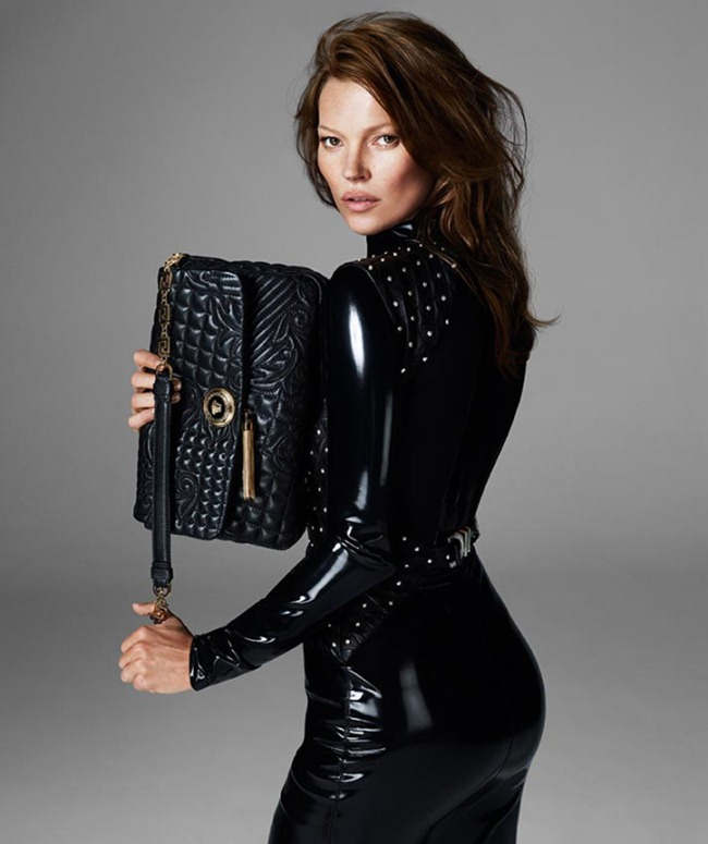 CAMPAIGN Kate Moss, Saskia De Brauw, Travis Smith, Dominik Bauer & Matt Trethe for Versace Fall 2013 by Mert & Marcus. www.imageamplified.com, Image Amplified (12)