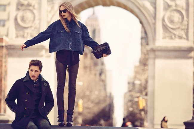 CAMPAIGN Cara Delevigne for DKNY Fall 2013. www.imageamplified.com, Image Amplified (6)