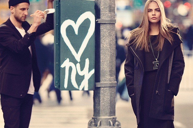 CAMPAIGN Cara Delevigne for DKNY Fall 2013. www.imageamplified.com, Image Amplified (13)