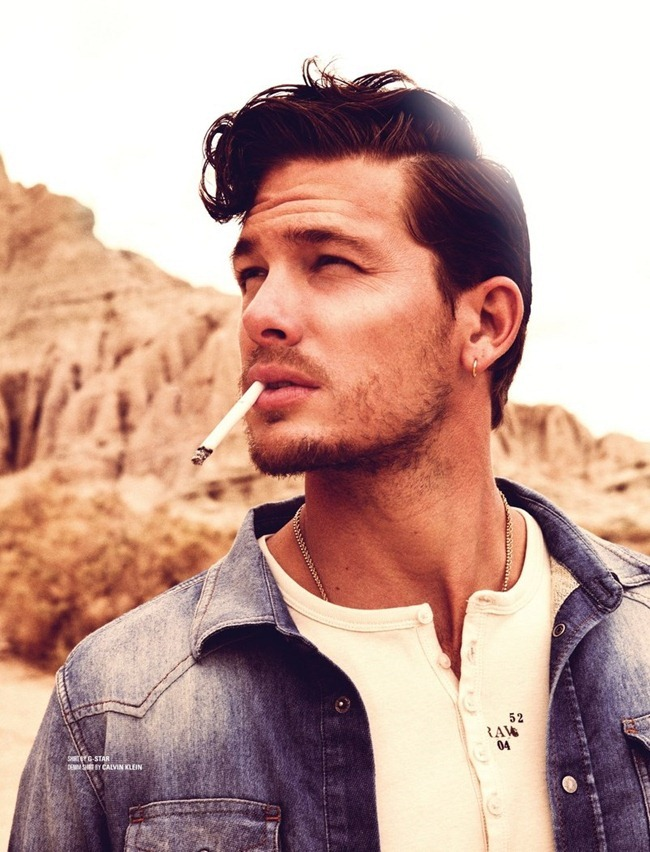 DSECTION MAGAZINE- Adam Senn in Cowboys Don't Get Lucky All The Time by Jack Waterlot. Lizette Pena, www.imageamplified.com, Image Amplified (3)