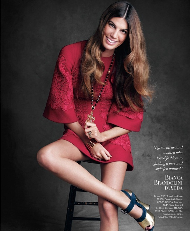 HARPER'S BAZAAR MAGAZINE- Personal Style by Victor Demarchelier. Joanna Hillman, August 2013, www.imageamplified.com, Image amplified (1)