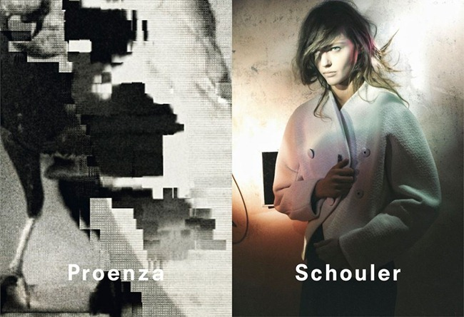 CAMPAIGN- Sasha Pivovarova for Proenza Schouler Fall 2013 by David Sims. www.imageamplified.com, Image Amplified (4)