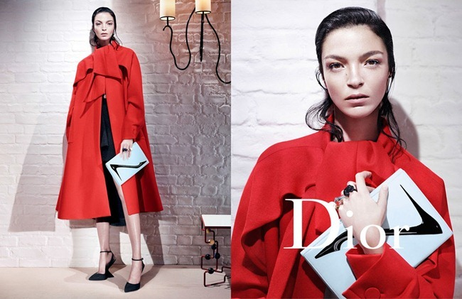 CAMPAIGN- Mariacarla Boscono, Elise Crombez, DAria Strokous & Iselin Steiro for Dior Fall 2013 by Willy Vanderperre. www.imageamplified.com, Image Amplified